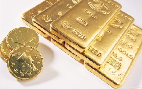 钱,黄金,硬币