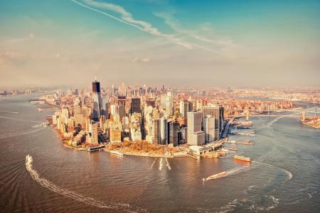 曼哈顿,纽约,纽约,船舶