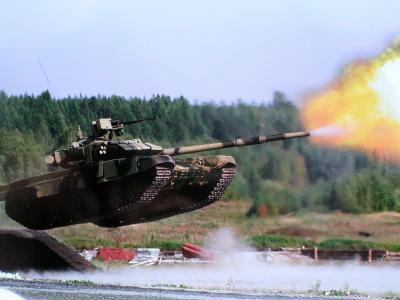 重坦克,T-90,射击,坦克,俄罗斯,跳