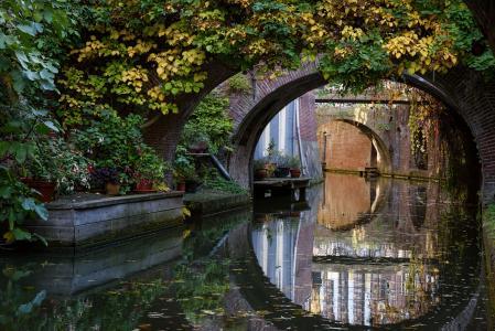 荷兰,桥,乌得勒支,水渠,性质