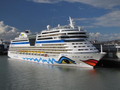 邮轮,船舶,班轮,港口,调整,创意,美丽