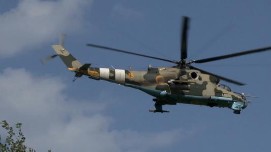 乌克兰,ATO,直升机,米-24