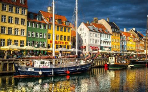 哥本哈根,丹麦,运河