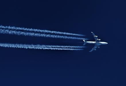 飞机,波音,飞行,天空,速度,跟踪