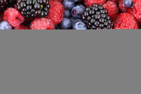 夏天,覆盆子,黑莓,蓝莓,蓝莓,dumbass,收获,美丽,美味