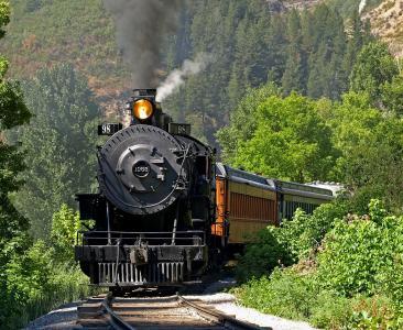 机车,货车,铁路,蒸汽