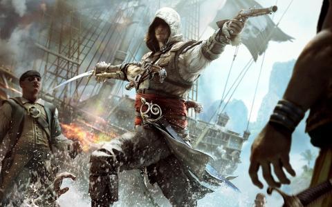 游戏,船,军刀,战斗