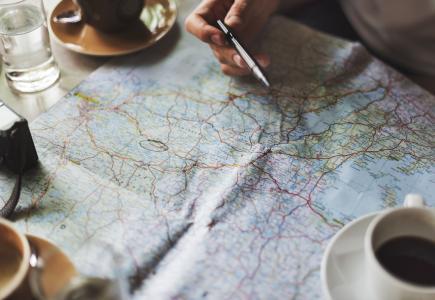 下午茶时间,来研究一下世界地图