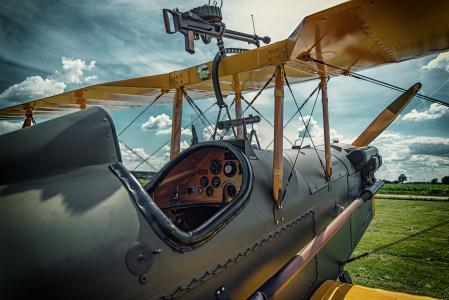 飞机,第一,世界,战争,战斗机,机舱