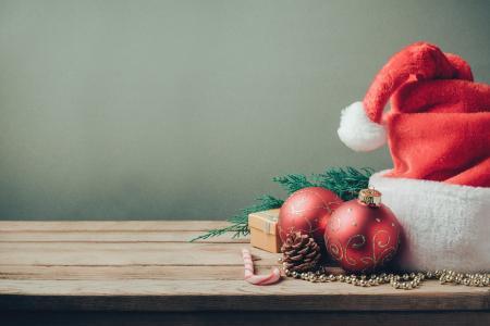 假期,新年,圣诞节,板,玩具,球,帽,锥,枝,针,框,礼物,糖果,装饰品,珠子