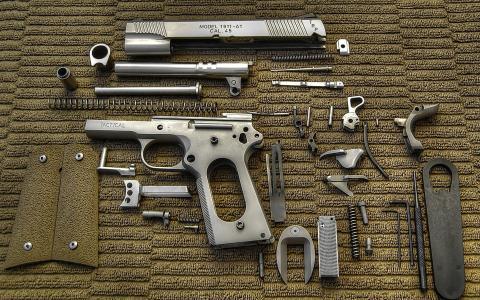 武器,零件,手枪