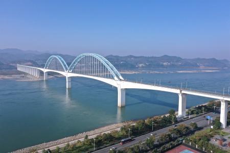 宜昌宜万铁路长江大桥
