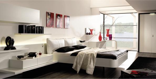 风格,卧室,设计,室内,别墅,房子,房间