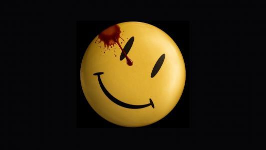 笑脸,黑暗,微笑