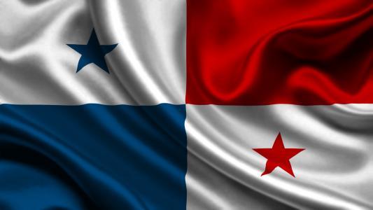 巴拿马,国旗,3d,巴拿马,国旗