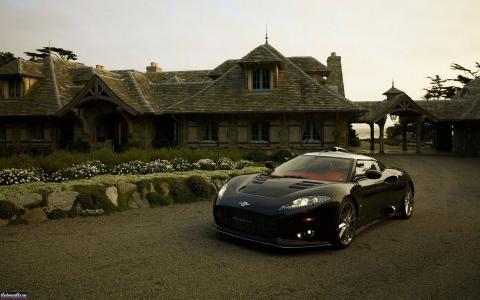 汽车,房子,海