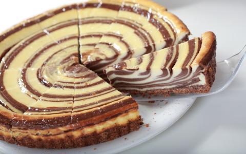 甜,一块,蛋糕