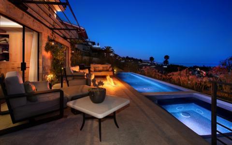 房子,火,沙发,家具,游泳池,按摩浴缸,扶手椅