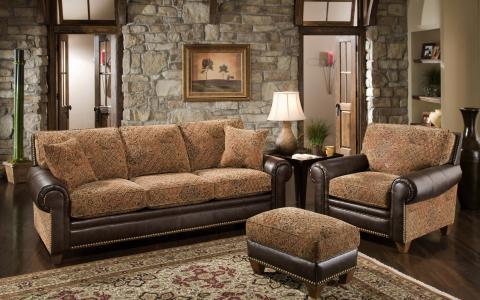 风格,扶手椅,房间,枝形吊灯,室内