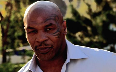 迈克·泰森,纹身,拳击手,迈克·泰森