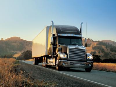 Freightliner,卡车,拖拉机,道路,货车,美国