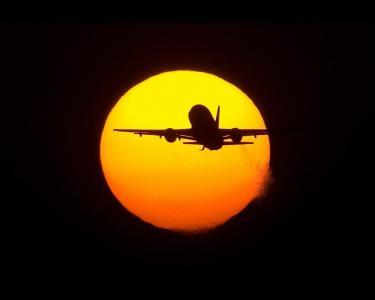 太阳,飞机,飞行