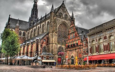 哥特式,教堂,大教堂