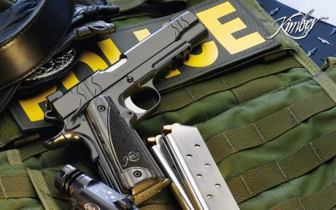 武器,商店,金伯,警察,手电筒,枪