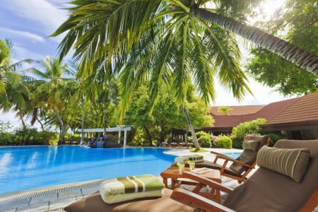 游泳池,马尔代夫,外部,酒店