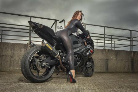 摩托车,铃木,GSX,Motogirls