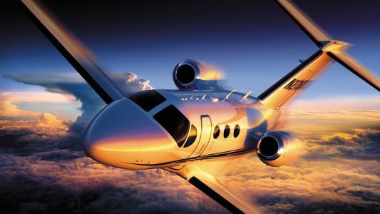 飞机,飞行,塞斯纳引用4,高度,天空