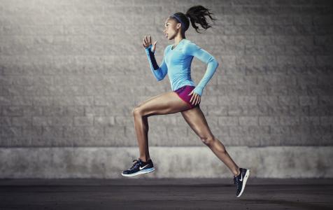 耐克,运动,田径,跑步,跑步