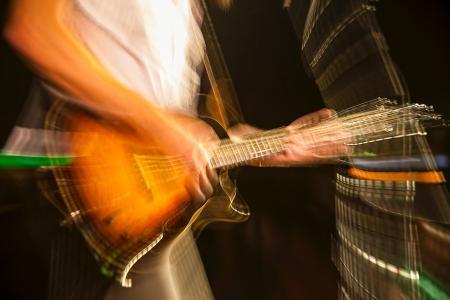 超酷炫光绘吉他手