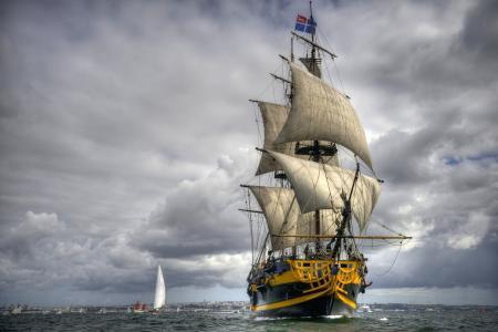 大特克,护卫舰,旗鱼,海