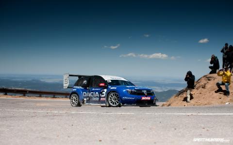 转,跟踪,山脉,汽车,赛车,汽车