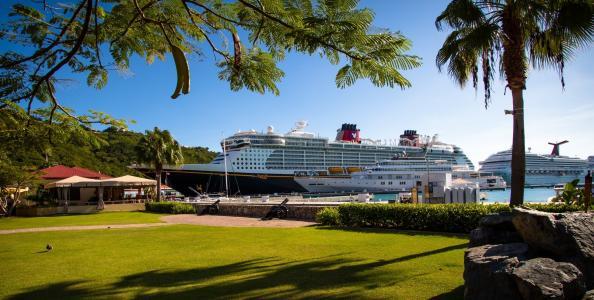 港口,船舶,度假村,热带地区