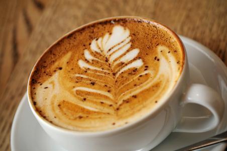 杯,拿铁艺术,模式,咖啡,泡沫,卡布奇诺