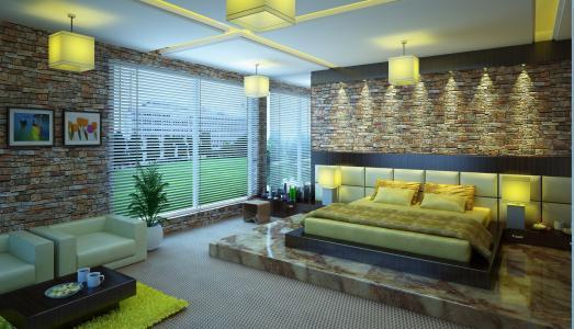 室内,公寓,房间,房子,风格,设计