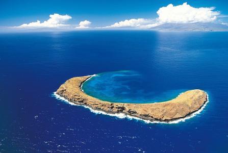 岛,海,山,美丽,性质