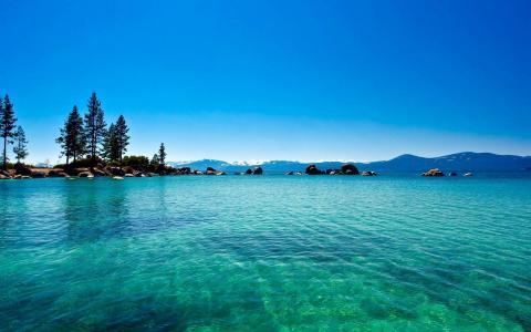 美国太浩湖风景