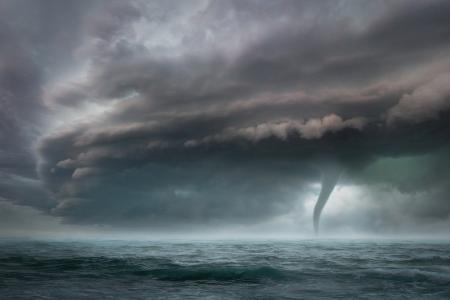 狂暴凶猛的龙卷风