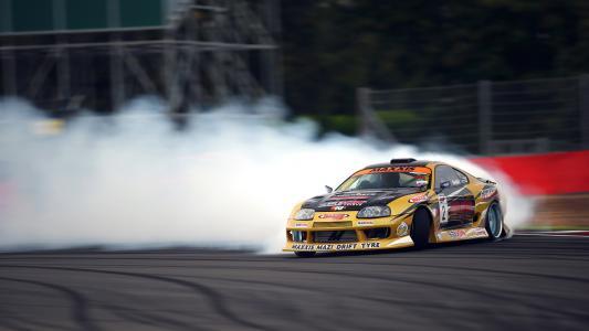 赛车,吸烟,丰田,竞赛,漂移,调教
