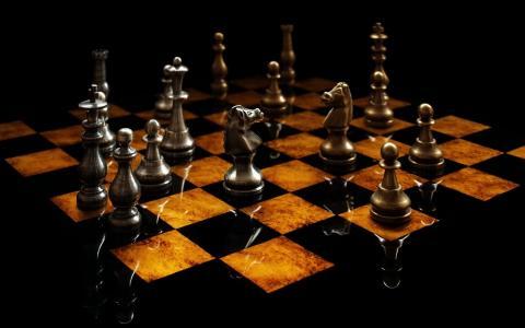 象棋,国际象棋,董事会,数字