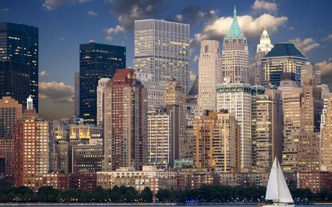繁华的都市纽约