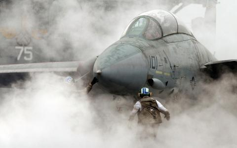烟,航母,战斗机