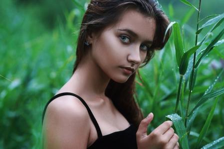 女孩,肖像,摄影师,Alya Plesovskikh