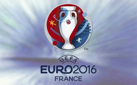 足球,欧元2016年,锦标赛,法国,锦标赛,会徽,背景