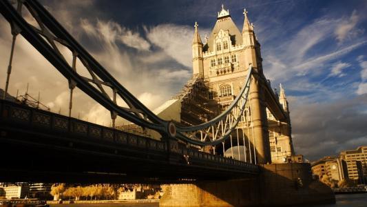 伦敦,建筑物,伦敦塔桥