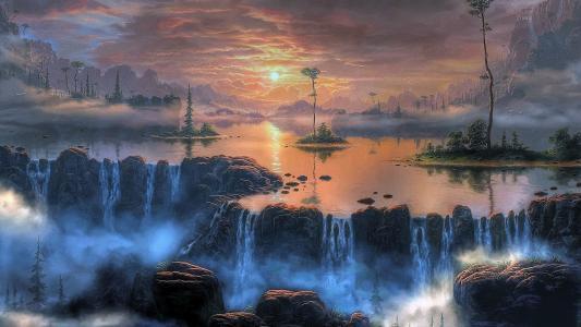 艺术,魔术,美丽,幻想,童话