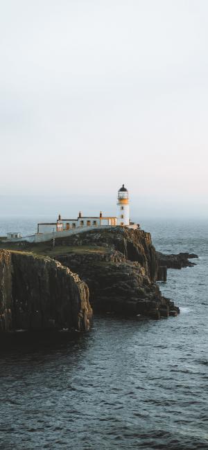 海岸上的灯塔